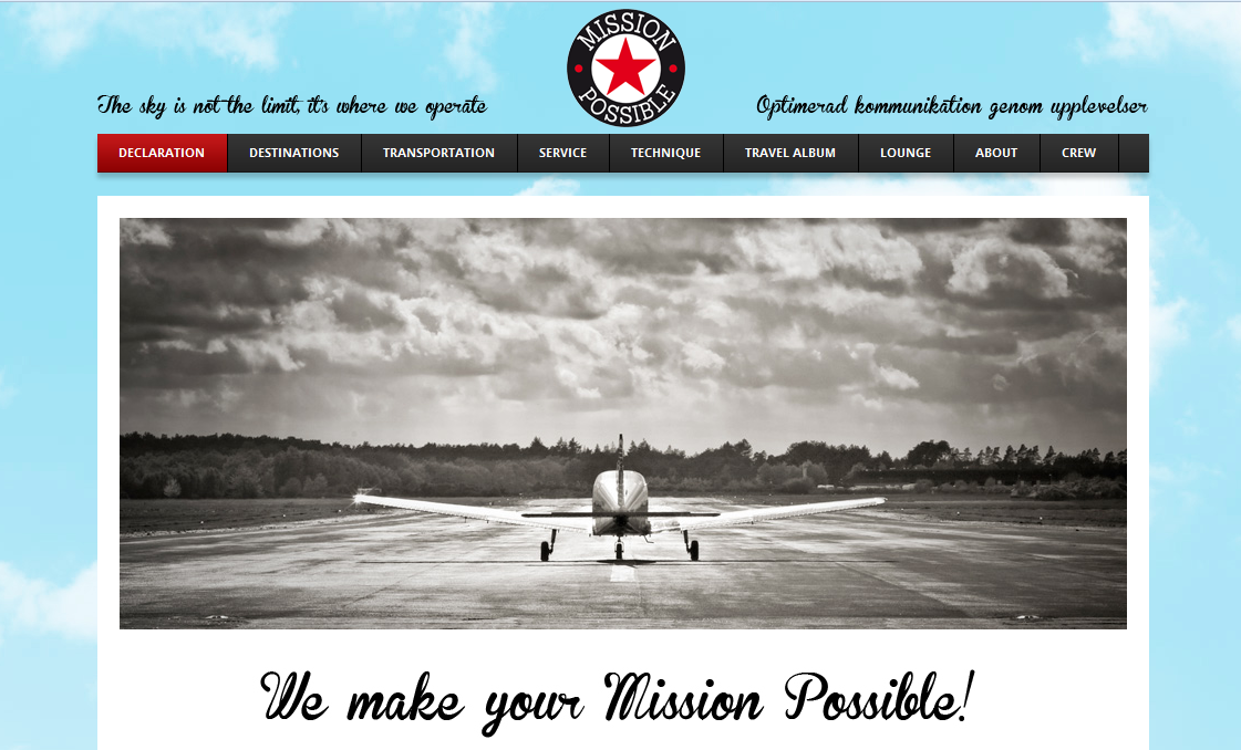 mission possible hemsida