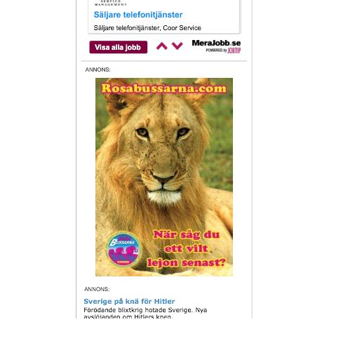 rosabussarna annons